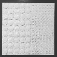 White on White Circles 36x36